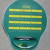 Skräddarsydd musmatta med handledsstöd av gel 245x210x22mm image