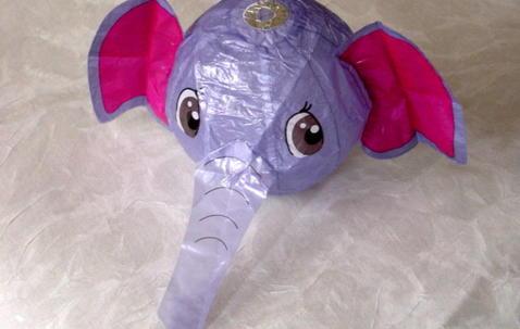 Washi ''Elefant'' ballong Ø36cm image