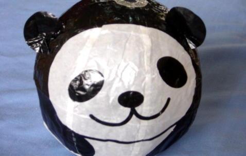 Washi ''Panda'' ballong Ø36cm image