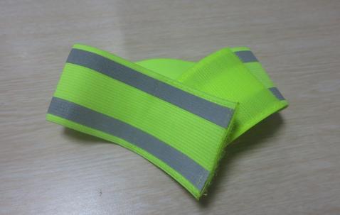 Elastiska reflexarmband 5cm vida | tryckta med er logga image