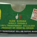 Rullpapper i standardstorlek gjorda av transparent papper skräddarsydd paketering (78x36mm) image