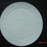 Skräddarsydd / ingraverat pappers underlägg 100mm image