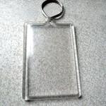 Nyckelring med eget lentikulärt tryck image