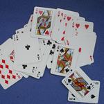 Spelkort i ministorlek med eget tryck (38 x 51 mm) image
