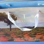 Skräddarsydda papperspåse med tryck 25x35hx10cm image