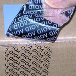 Säkerhetsmarkerande anti-tampering tejp 50mm x 50m image